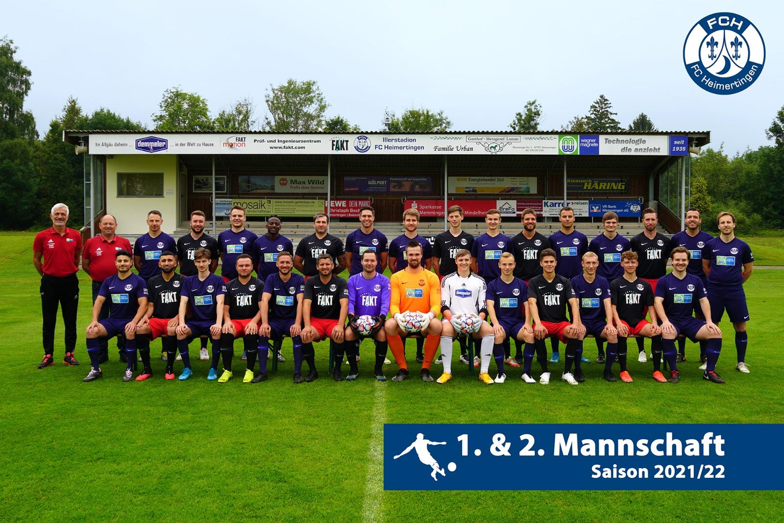 1. Mannschaft Fußball FC Heimertingen